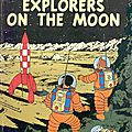 Tintin - explorer on the moon