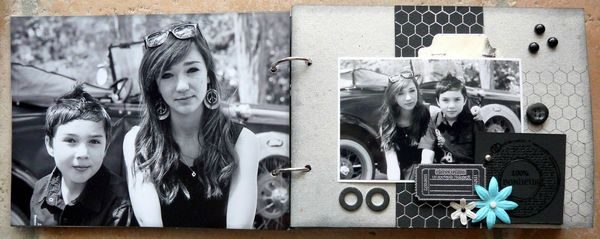 mini album kit Patmiaou 1
