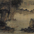 Zhang daqian (chang dai-chien) 1899-1983, ode to the red cliff after kuncan