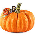 L'escargot d'halloween de maryline