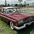Plymouth belvedere 4door sedan-1958
