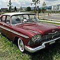 Plymouth belvedere 4door sedan-1958