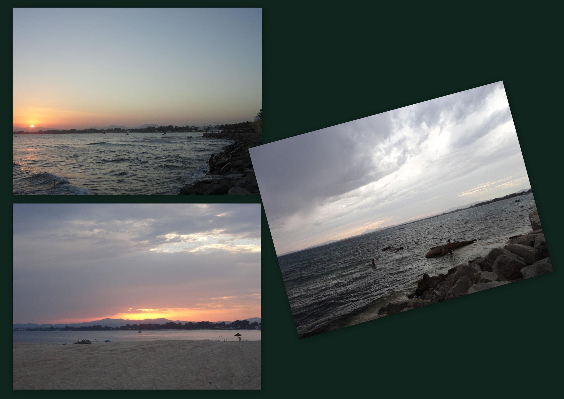 Mes couchers de soleil du Ramadan 2012 ... à Hammamet.