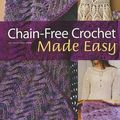 Chain-free crochet made easy, judy crow