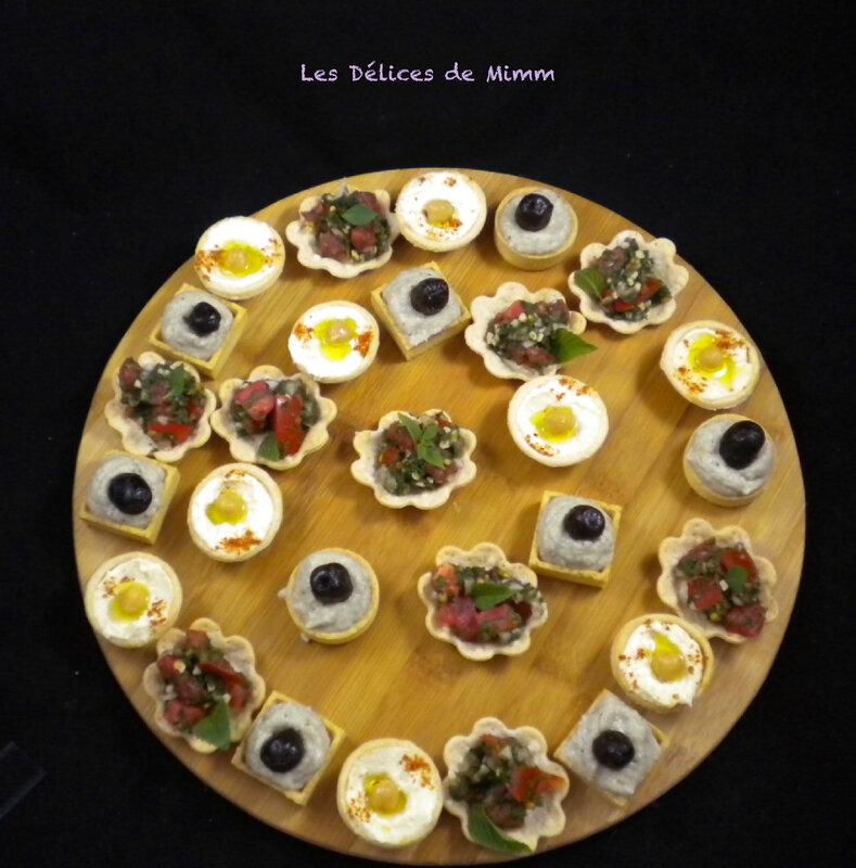 Un mini mezzé libanais en petites bouchées apéritives 2