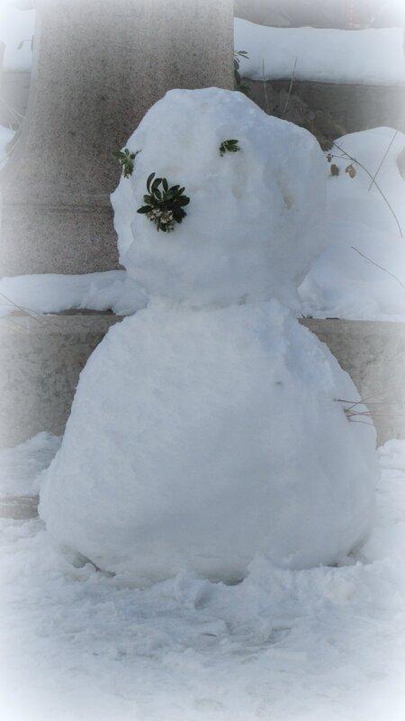 neige-bonhomme