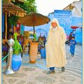 Plaza central Chefchaouen