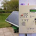 Panneau solaire thermique piloté aux équations solaires par pic 16f