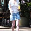 Rumer willis ... toms shoes