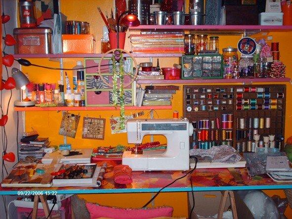 mon atelier!!