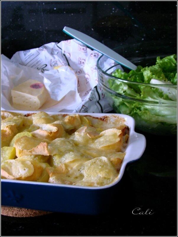 Tartiflette aux Poireaux & Pommes de Terre 002