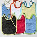 Serviettes de bébé tissus éponge ( 400 g / m2 )