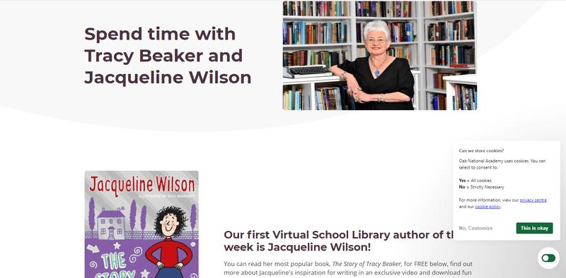 Un livre numérique gratuit pour les enfants anglais durant le confinement