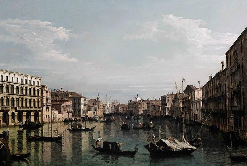 Bernardo Bellotto's Venice, A View of The Grand Canal