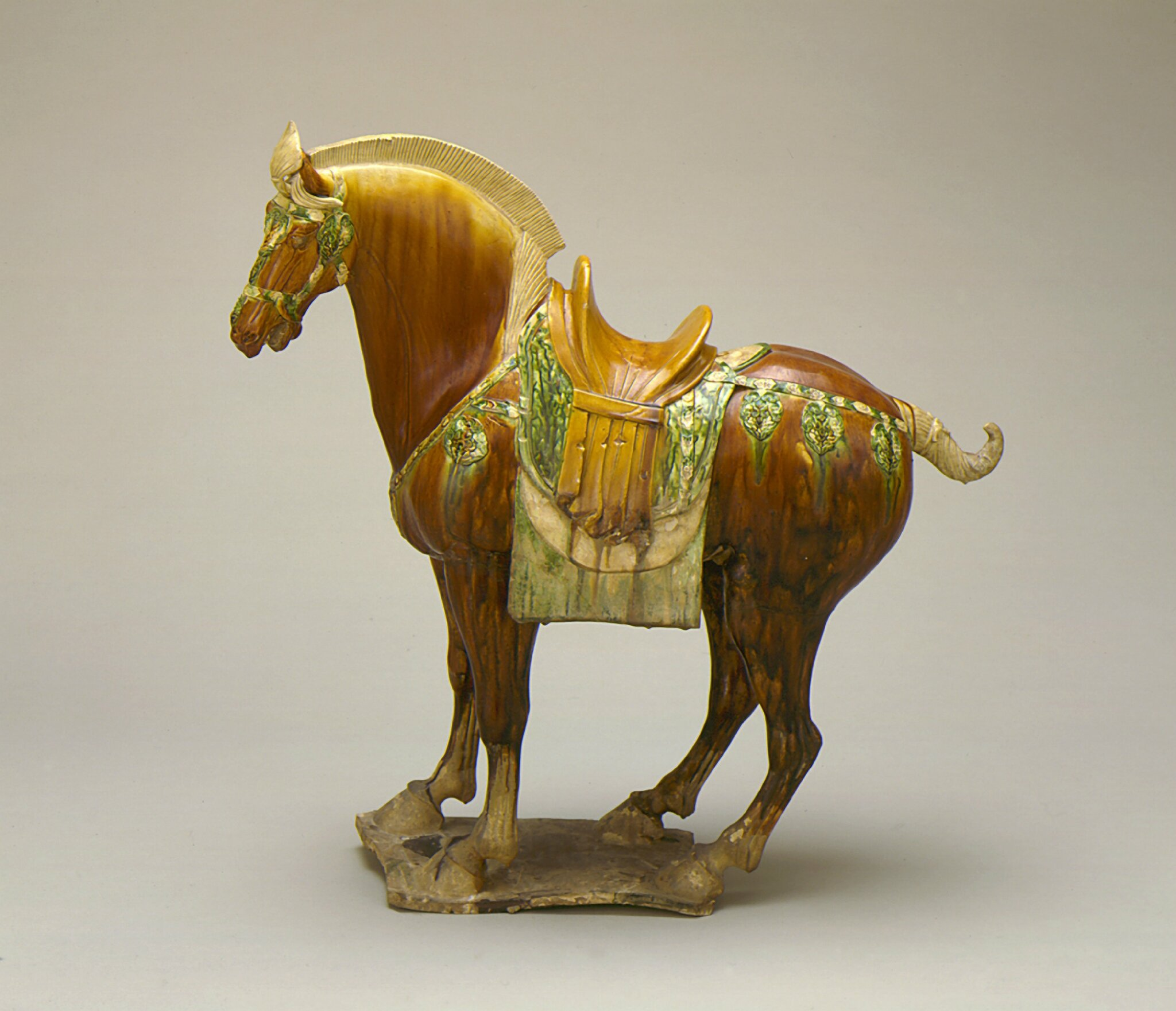 Funerary Sculpture of a Horse, China, Middle Tang dynasty, about 700-800