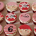 Cupcakes pirate girly