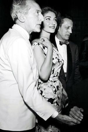 1960 Jean Cocteau, María Callas