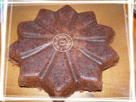 gâteau chocolat au caramel