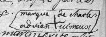 Charles-Adrien signature