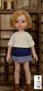 T-shirt jupe