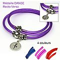 bracelet mia couleurs danse
