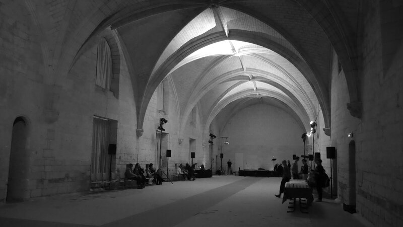 Abbaye de Fontevraud refectoire