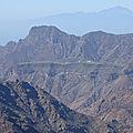 Autour de la vallée de tejeda, île de gran canaria
