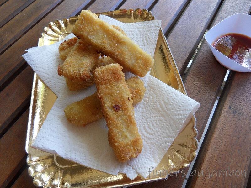 fingers au jambon
