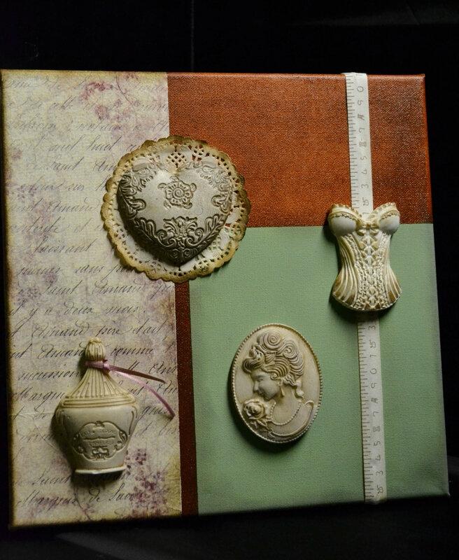 scultoline médaillon corset