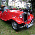 La mg type td 1952 (33ème internationales oldtimer-meeting baden-baden)