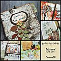 Atelier mixed media art journal 2016-2017