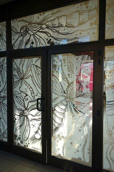 portes Moustiques - Blanc de Meudon
