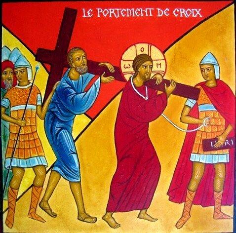 14 Le portement de Croix