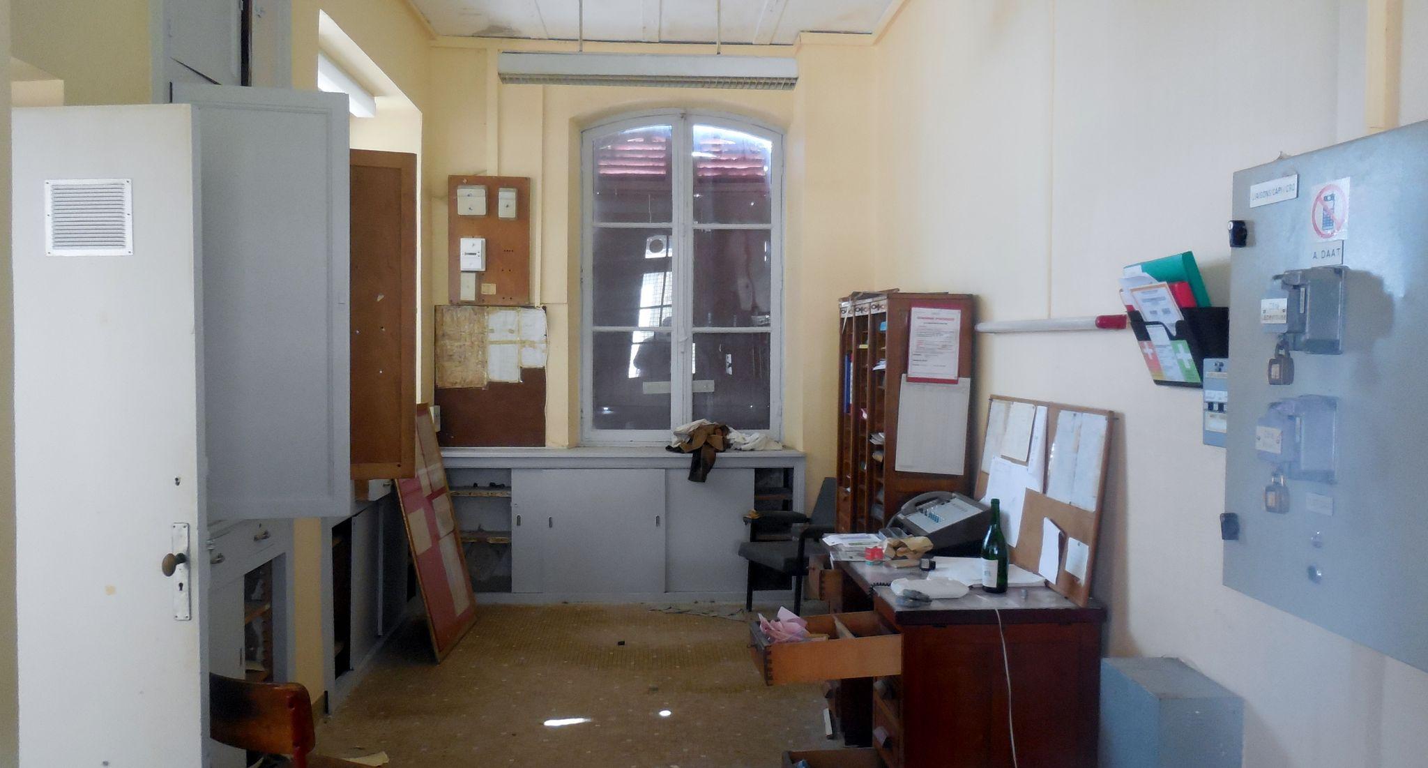 Saint-Gervais Chateauneuf (Puy-de-Dôme) bureau du chef de gare