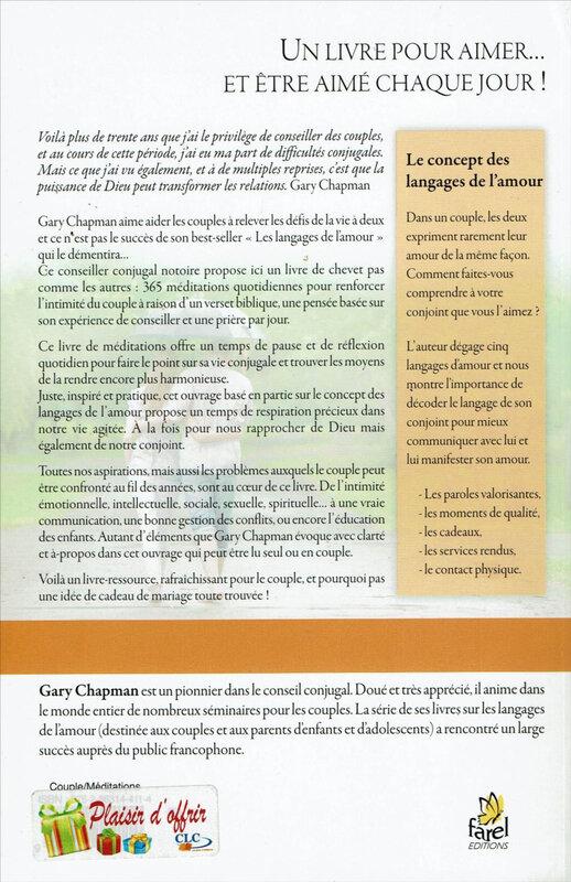 Lcons00008-Méditations Quotidiennes pour le Couple-Gary Chapman-4ème Couv