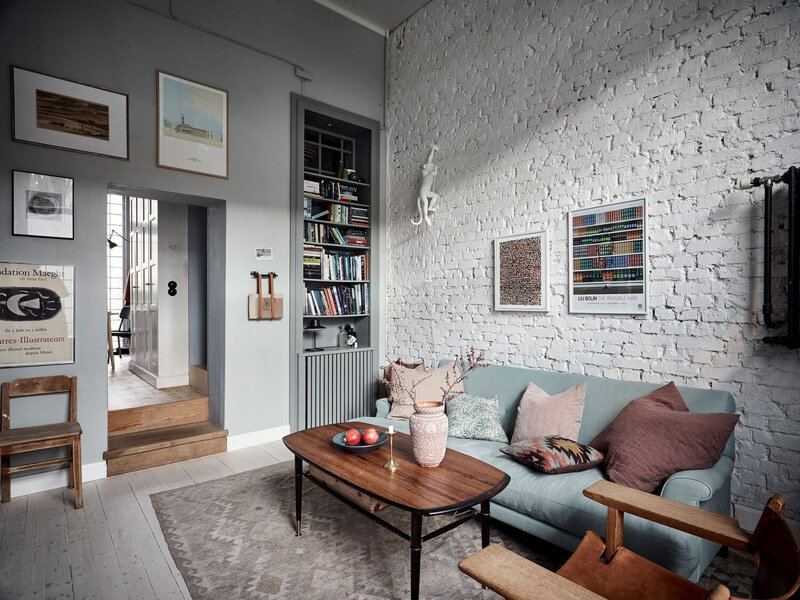 Vintage+Touches+in+a+Beautiful+Scandinavian+Home+-gf+The+Nordroom