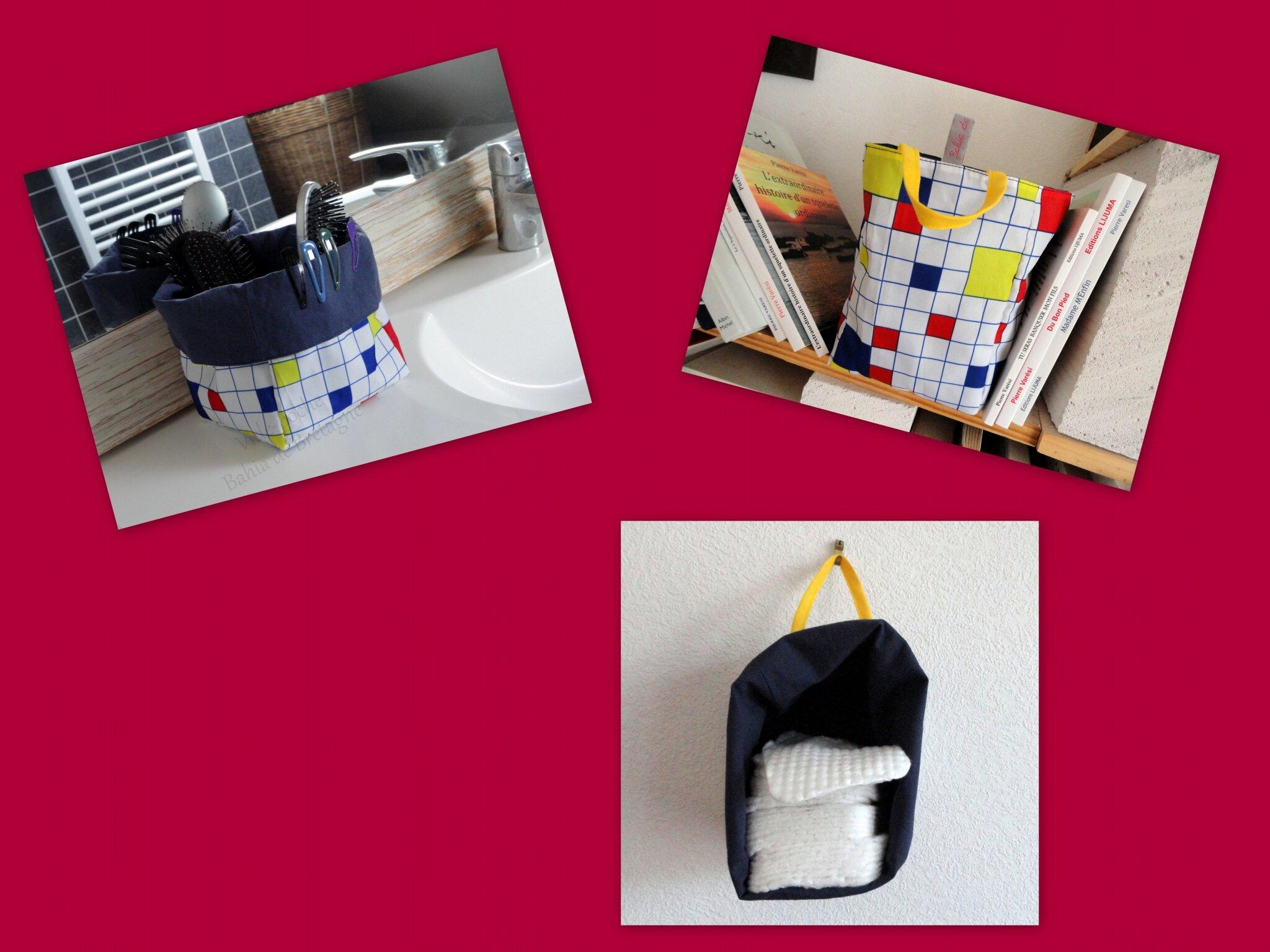 Montage VP à la Mondrian