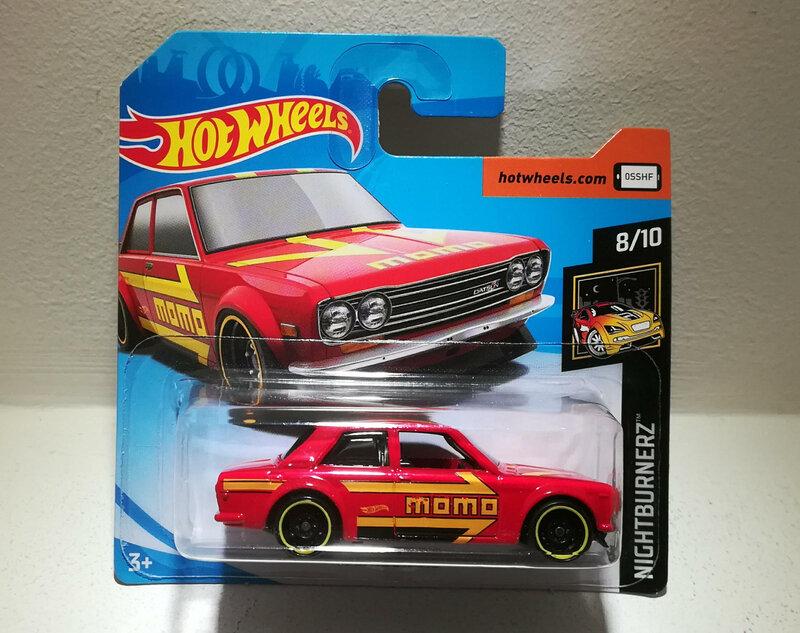 Datsun 510 de 1971 (Hotwheels)