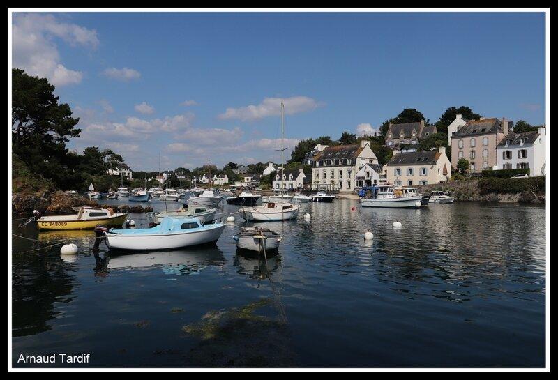 001773 Guidel - La Côte de Quimperlé à Guidel - La Rive Gauche de Doëlan
