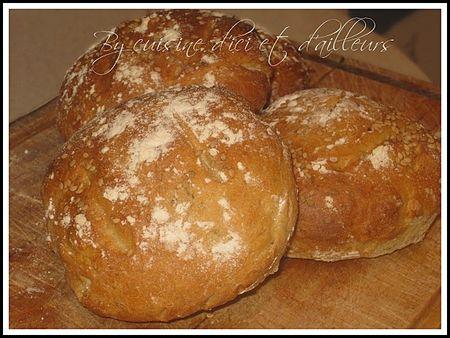 cuisine-d-ici-et-d-ailleurs- petits pains à la provençale (24
