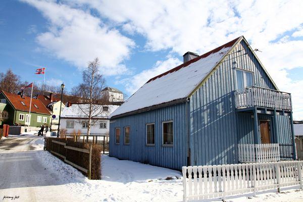 maison bleue trondheim