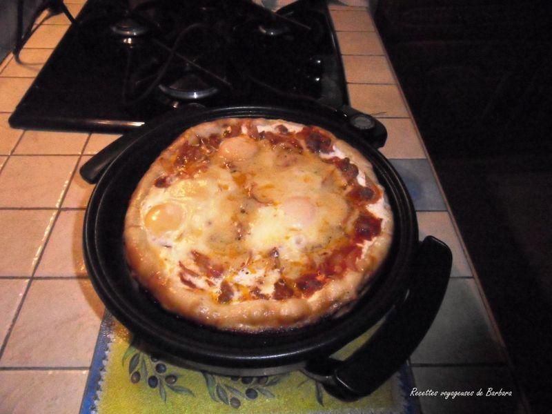 Pizza Texane Dans Mon Nouveau Joujou Recettes Voyageuses De Barbara