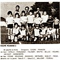 Cm floirac saison 1975/76 équipe poussins 2