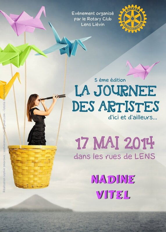 journée des artistes 2014