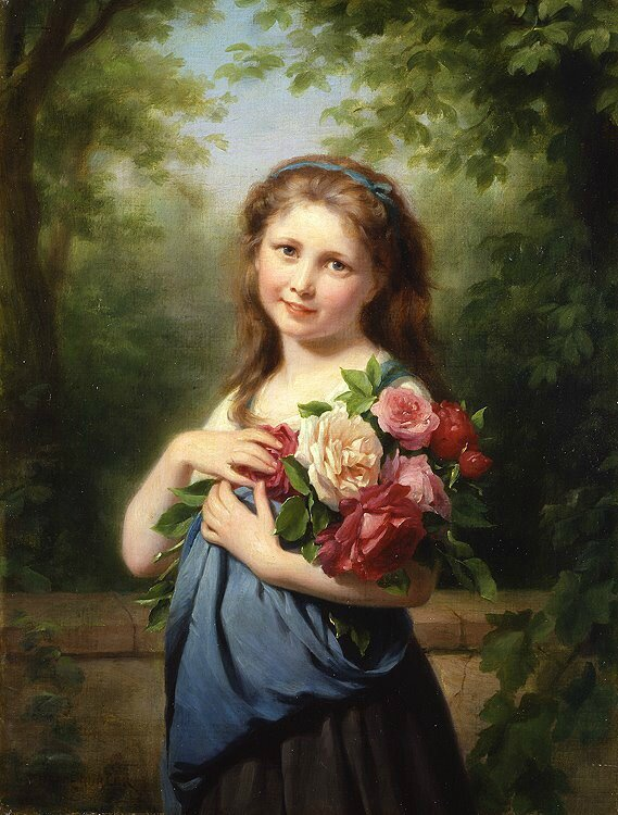 fritz_zuber_buhler,+the_flower_gatherer,+private+collection