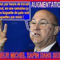 Michel sapin a fait appel à un hélicoptère de la gendarmerie nationale pour retrouver son embarcation , coût estimé 1600€.