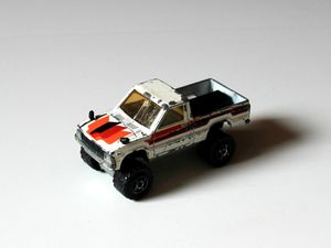 Toyota pick-up de chez Majorette (1