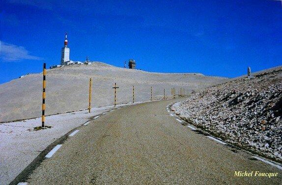 178) montée à vélo sur le Mont Ventoux