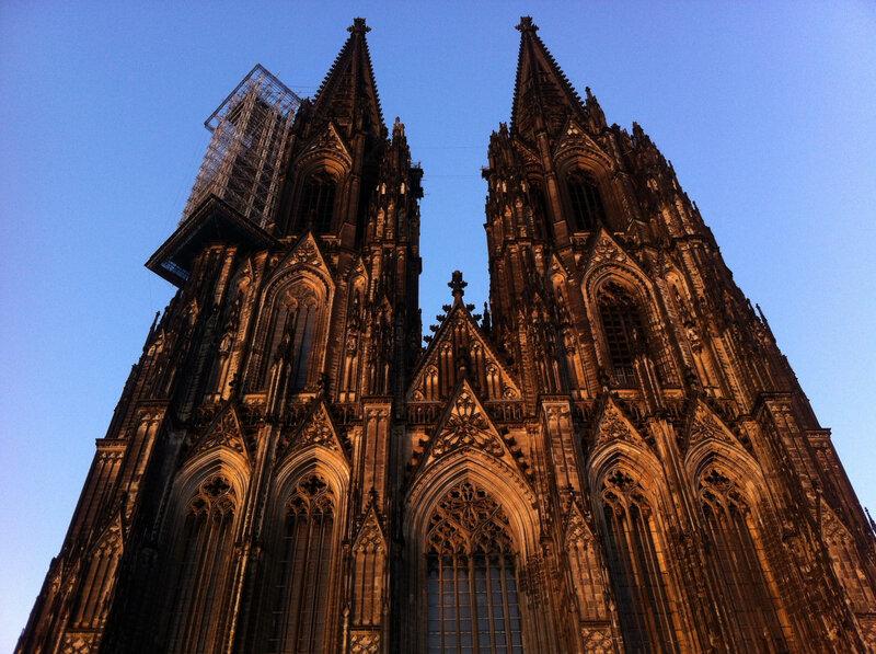 Cologne, cathédrale, façade