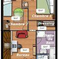 Les plans du 1er etage